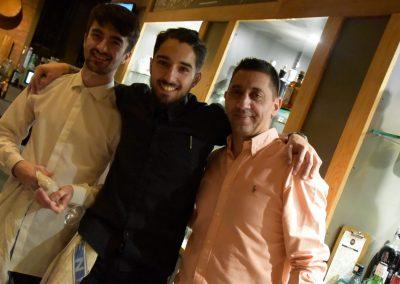 Charles (l), Ricardo and Jonathan